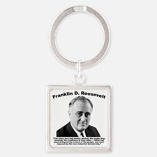 FDR: Dictatorship Square Keychain
