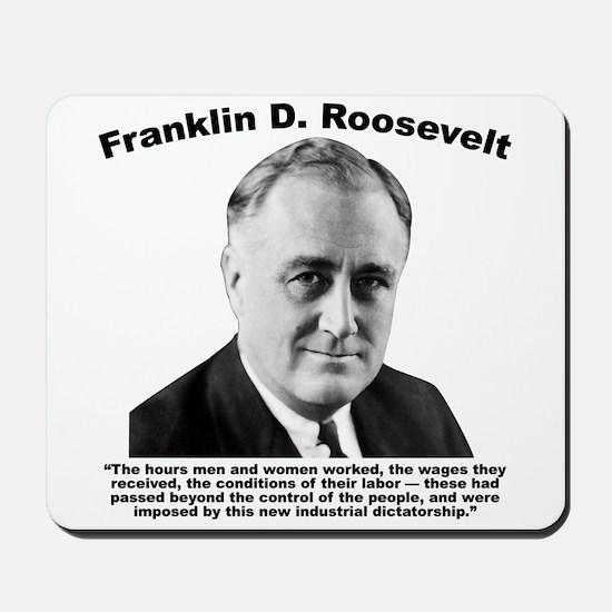 FDR: Dictatorship Mousepad