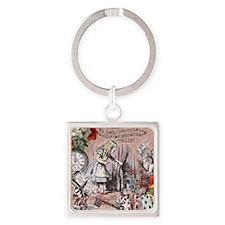 Alice in Wonderland Vintage Adventures Keychains