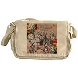 Alice in wonderland Messenger Bag