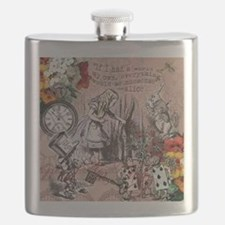 Alice in Wonderland Vintage Adventures Flask