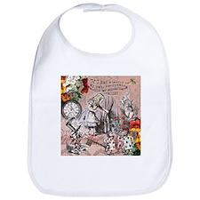 Alice in Wonderland Vintage Adventures Bib