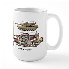 M1a1 Abrams 4th Tank Battalion Usmc MugMugs