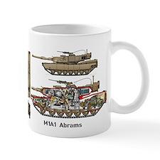 M1a1 Abrams 4th Tank Battalion Usmc Mug Mugs