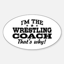 Wrestling Coach Decal