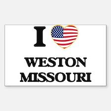 I love Weston Missouri Decal