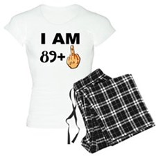Middle Finger 90th Birthday Pajamas