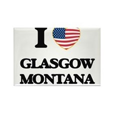 I love Glasgow Montana Magnets