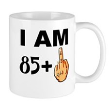 Middle Finger 86th Birthday Mugs