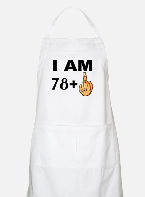 Middle Finger 79th Birthday Apron