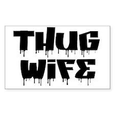Thug Wife Decal
