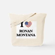 I love Ronan Montana Tote Bag
