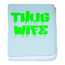 Thug Wife baby blanket