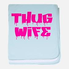 Thug Wife baby blanket