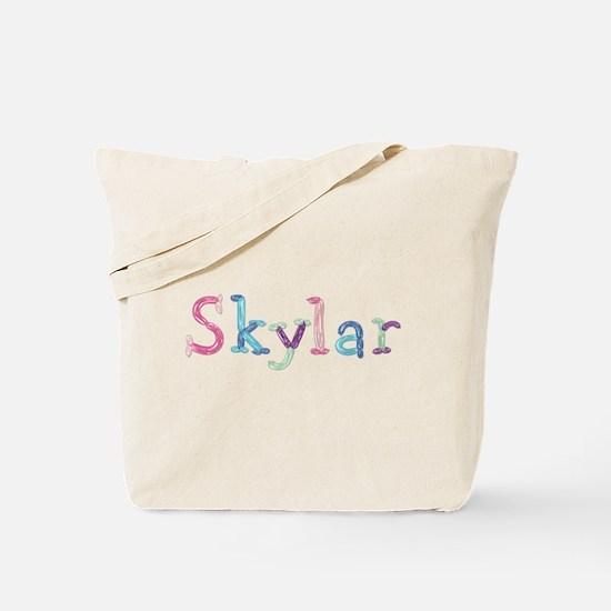 Skylar Princess Balloons Tote Bag