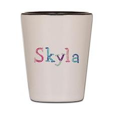 Skyla Princess Balloons Shot Glass