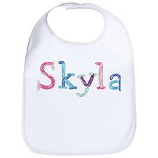 Skyla Princess Balloons Bib
