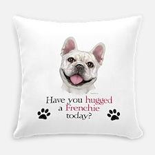 Frenchie Hug Everyday Pillow