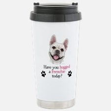 Frenchie Hug Travel Mug