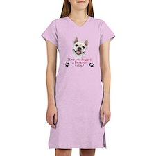 Frenchie Hug Women's Nightshirt