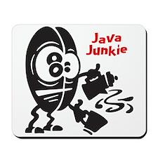 Java Junkie Mousepad