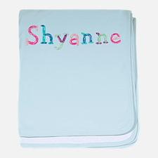Shyanne Princess Balloons baby blanket
