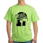MMA Scream it Out! Green T-Shirt