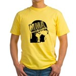 MMA Scream it Out! Yellow T-Shirt