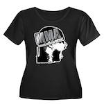 MMA Scream it Out! Women's Plus Size Scoop Neck Da