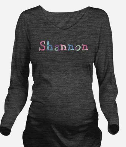 Shannon Princess Balloons Long Sleeve Maternity T-