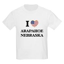 I love Arapahoe Nebraska T-Shirt