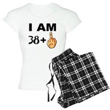 Middle Finger 39th Birthday Pajamas