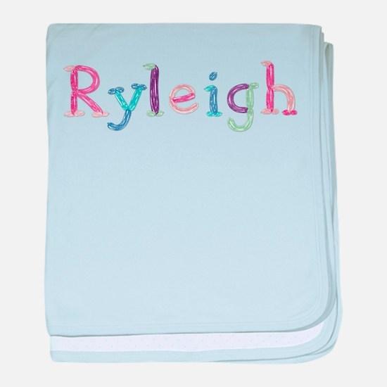 Ryleigh Princess Balloons baby blanket