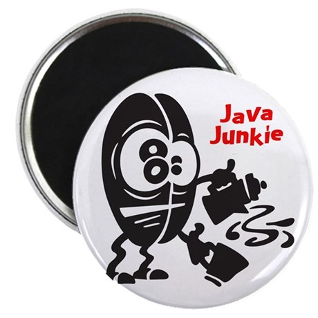 Java Junkie Magnet