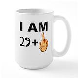 30th birthday Large Mugs (15 oz)