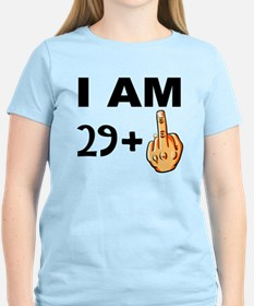 Middle Finger 30th Birthday T-Shirt
