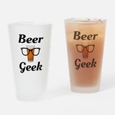 Beer Geek Drinking Glass