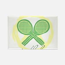 Wimbledon Rectangle Magnet