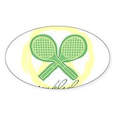 Wimbledon Oval Decal