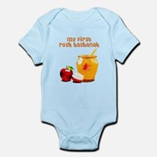 baby's first Rosh Hashanah Body Suit