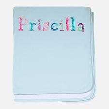 Priscilla Princess Balloons baby blanket