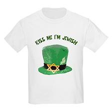 Kiss Me I''m Jewish T-Shirt