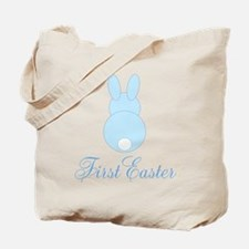First Easter Blue Bunny Tote Bag