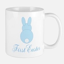 First Easter Blue Bunny Mugs