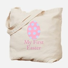 My First Easter Pink Egg Tote Bag