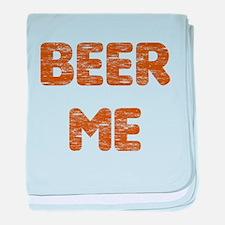 Beer Me baby blanket