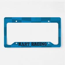 Kart Racing License Plate Holder