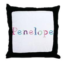 Penelope Princess Balloons Throw Pillow