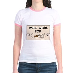 WILL WORK FOR COOKIES T