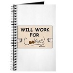 WILL WORK FOR COOKIES Journal
